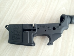 stripped AR15 lower