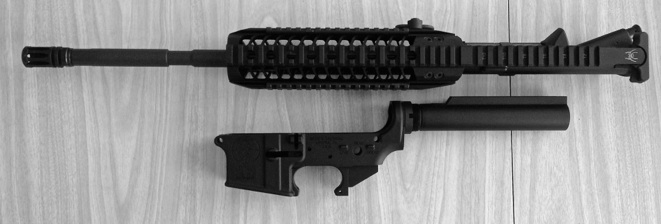 ar15-upper and lower