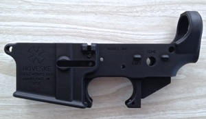 Noveske Lower - it is a mil-spec lower but the fit and finish is a step up from others that I have worked with.