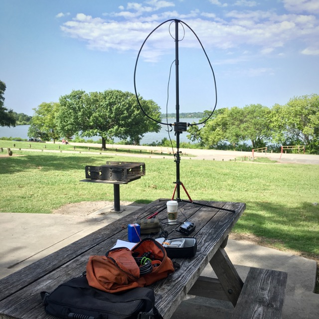 QRP From White Rock Lake Park