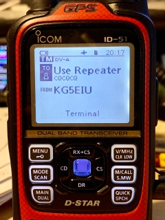 Pi-Star Terminal Mode With Icom ID-51A Plus2 – David Cappello (KG5EIU)
