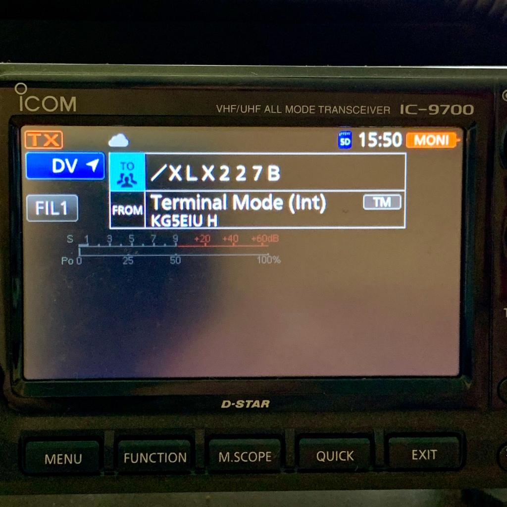 Icom IC-9700 Internal Terminal Mode – David Cappello (KG5EIU)